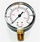 "Plast Manometer 3/8"" Ø80 0-1,0 Bar MS nedad"